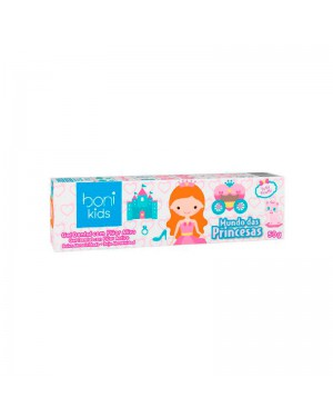 Gel Dental Vegano Boni Kids Mundo Das Princesas Tutti Frutti 50g - Ultra Action